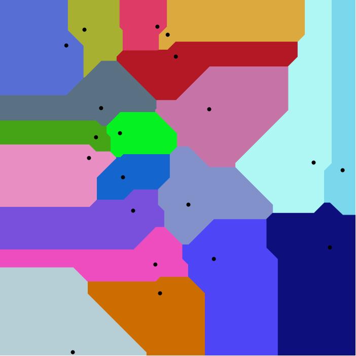 Manhattan_Voronoi_Diagram